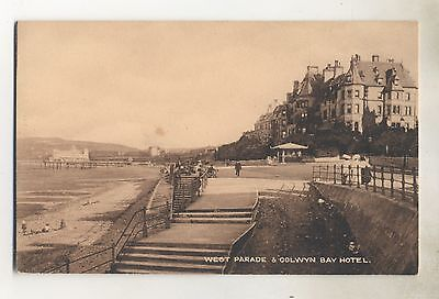 West Parade & Colwyn Bay Hotel .pub Boots.date Unknown