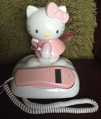 Hello Kitty landline phone. With light up wings