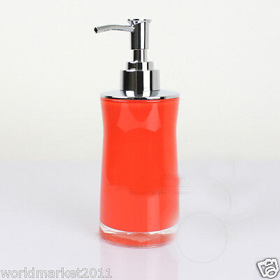 New Acrylic Red Manual Control Soap Dispenser Hand Sanitizer Machine
