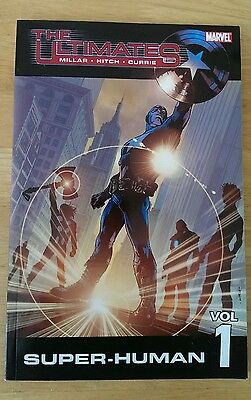 The ultimates vol 1 marvel graphic novel