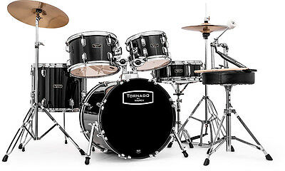 Mapex Tornado 18in Compact Drum Kit - Black TND5844FTC-DK