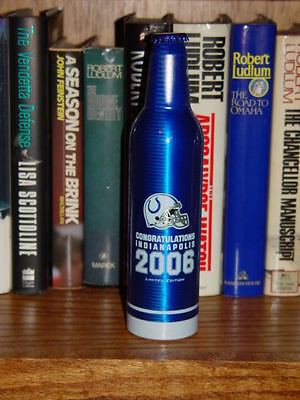 Indianapolis Colts Collectible Bud Light 2006 Limited Ed Bottle Super Bowl Xli