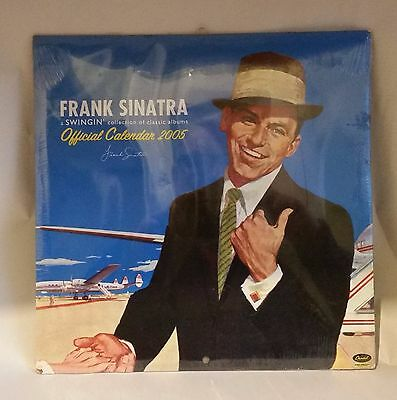 FRANK SINATRA Calendar 2005. Resource of Album Cover Images x 12. Affordable Art