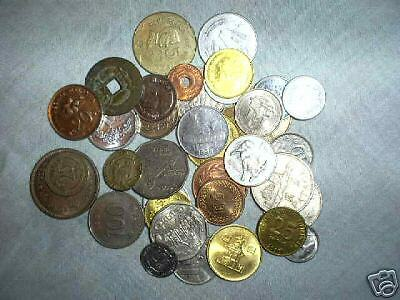 35 different Africa and Middle East coins nice circ.-Unc.