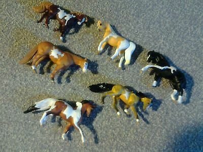 Collectible Breyer Reeves Horses - Miniature In Size - Qty 6