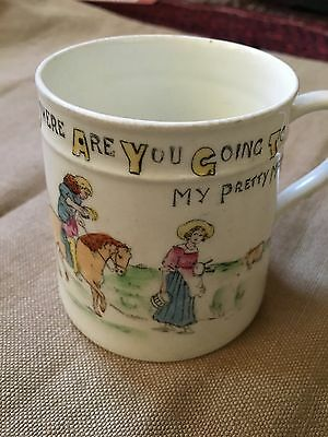 Vintage Nursery Child's China Cup Crown China