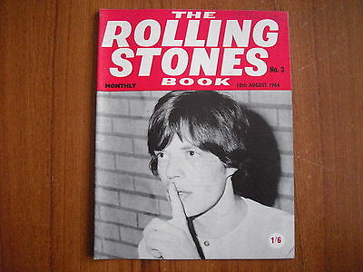 THE ROLLING STONES MONTHLY BOOK - No. 3 - AUGUST 1964 - ORIGINAL