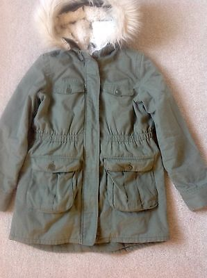 Girls Parker Coat Large Gap Full Fleece Lining Which Is Detachable Excellent