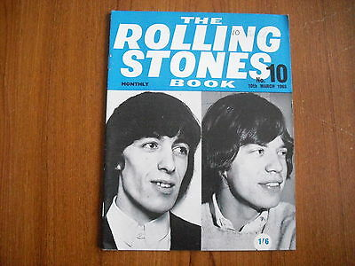 THE ROLLING STONES MONTHLY BOOK - No. 10 - MARCH 1965 - ORIGINAL