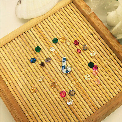 100PCS Gems Alloy Floating Charm For Living Memory Locket YAB24