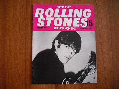 THE ROLLING STONES MONTHLY BOOK - No. 15 - AUGUST 1965 - ORIGINAL