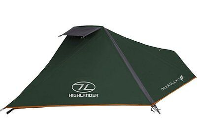 Highlander Blackthorn 1 One Man Tent / Hooped Bivi - 1.5kg - Backpacking Cycling