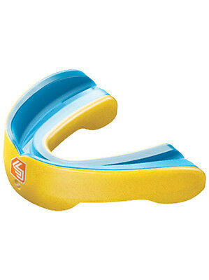 Shock Doctor MouthGuard Gel Nano Convertible Piece Pearl Yellow - Adult
