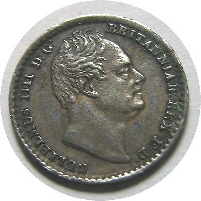 elf  Great Britain 1 Penny 1832 Silver  William IV   Maundy