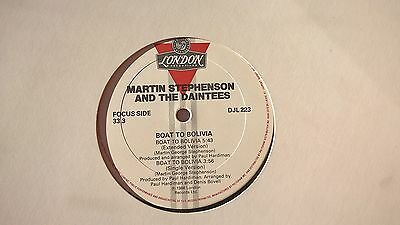 MARTIN STEPHENSON & THE DAINTEES - Boat to Bolivia -  PROMO VINYL LP