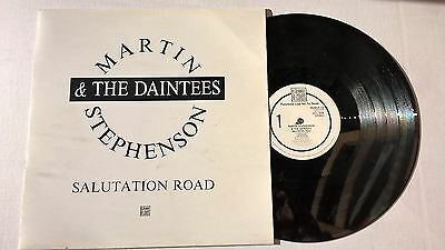 MARTIN STEPHENSON & THE DAINTEES - Salutation Road -  PROMO VINYL LP