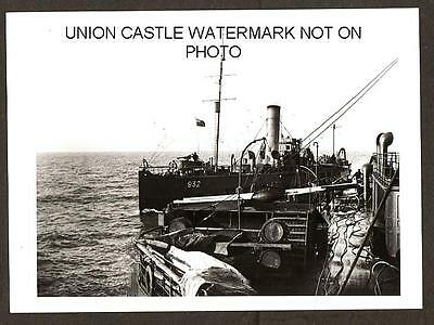 Imperial War Museum Large Photo Paddle Steamer Waverley Minesweeper 932 Gun Fore