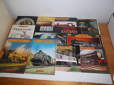 12 HORNBY OO GAUGE CATALOGUES 1977 -1988 Inc