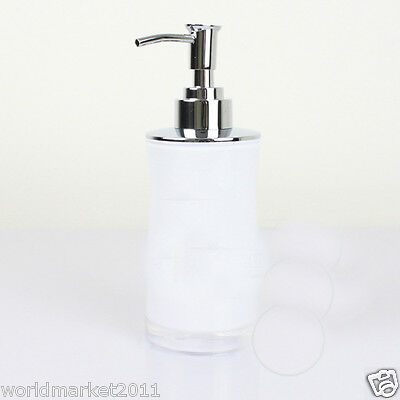 New Acrylic White Manual Control Soap Dispenser Hand Sanitizer Machine