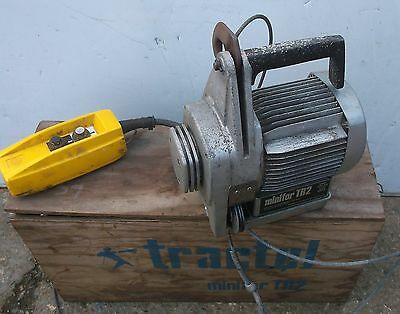 Tractel Minifor TR2 Portable Wire Rope Winch - 380v - 3 Phase