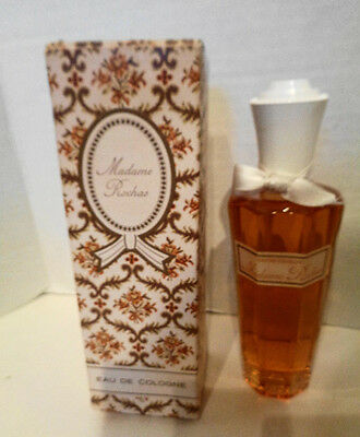 Vintage Madame Rochas Eau de Cologne No. 9204 6 Inches Made in France