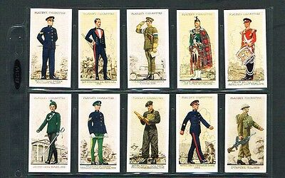 1939 Player Cigarettes Uniforms of the Territorial Army Complete Set of 50 Nice!