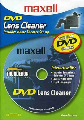 Maxell DVD-LC DVD Laser Lens Cleaner - Accessories