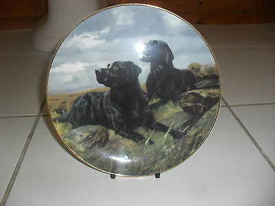 """Franklin Mint Royal Doulton Limited Edition Bone China Plate""""ready To Go"""""""