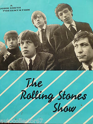 Stunning Fully Signed Rolling Stones Tour Programme 1964 Autographs