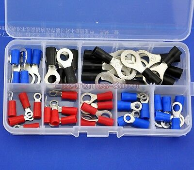 9 Types Ring Crimp Wire Terminal Assortment Kit, Connector, CT-KIT3-G