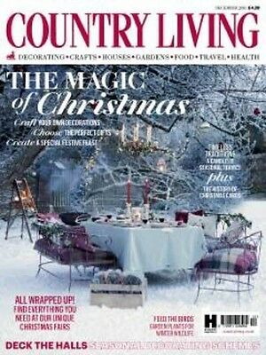 Country Living Magazine December 2016