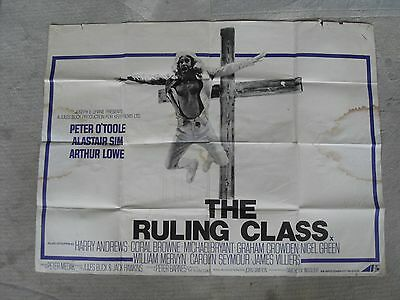 The Ruling Class Quad Cinema Poster 30X40 1972