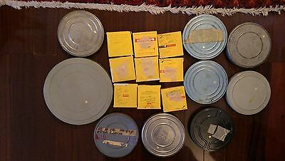 Mixed Lot of 18 Reels of 16mm Film Home Movies