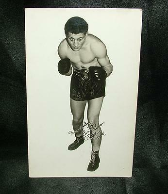 "Old Boxing Real Photograph Postcard Eric ""fen Tiger"" Boon - Lot 38"
