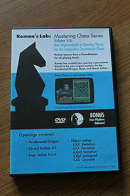 Chess DVD - Roman's Lab Volume 12: New Improvements in Opening Theory