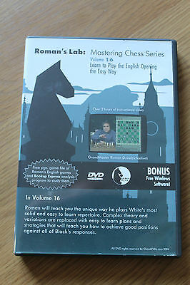 Chess DVD - Roman's Lab Volume 16: Learn to Play the English Opening