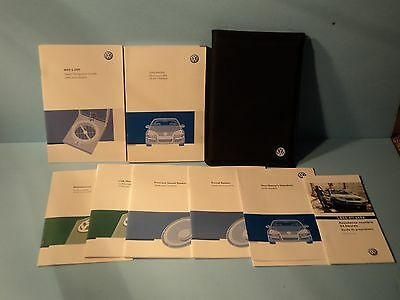 08 2008 VW Jetta owners manual with Navigation