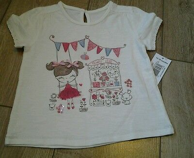 Bnwt Age 12-18Mths Baby Girls Top