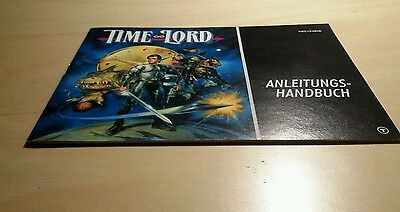 NES Time Lord original Anleitung Instruction Booklet