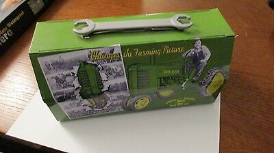 john deere lunch/trinket box