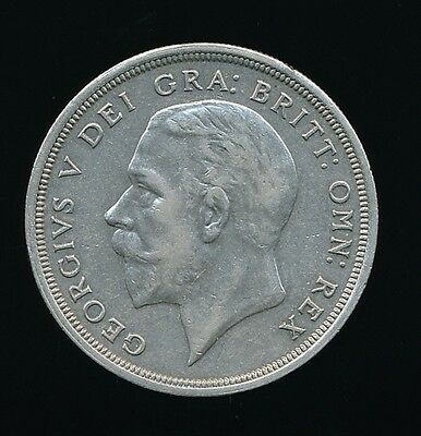 GENUINE 1931 George V - Silver WREATH CROWN...Good Grade....Fast Post