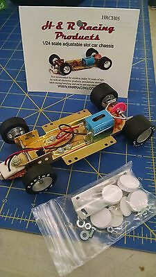 H&R CH05 Hard Body RTR Chassis foam tires 1/24 Slot Car from Mid America Raceway