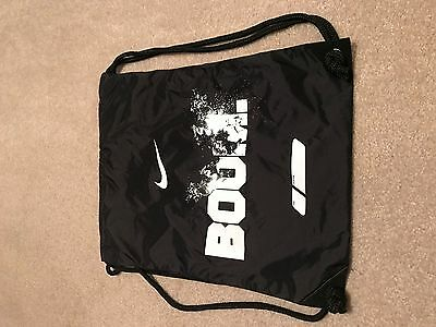 Nike Boom Drawstring Book Bag Backpack Tote Brand New