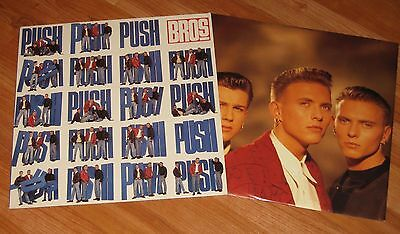 Bros  -  Push Vinyl Lp + Inner Sleeve
