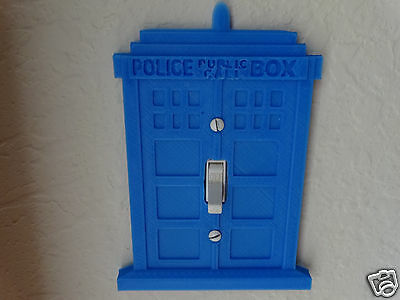 Doctor Who Tardis wall on/off switch cover