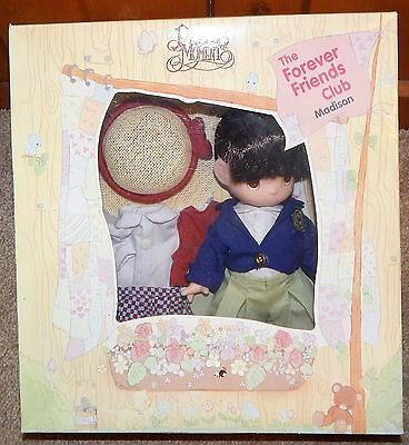 PRECIOUS MOMENTS Doll 1993 Madison Forever Friends Club NEW IN BOX