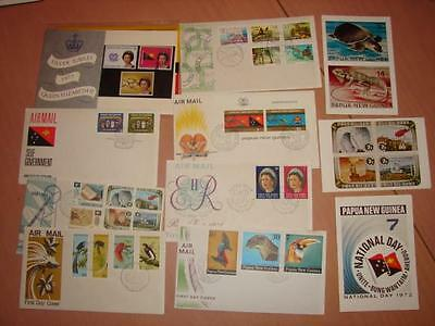 (A292) Papua New Guinea  First Day Covers  Pre Pack And More As Pics More Listed