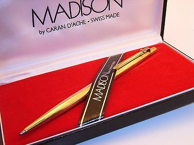 Coffret stylo bille  CARAN D'ACHE MADISON  –  ball point caran d'ache madison