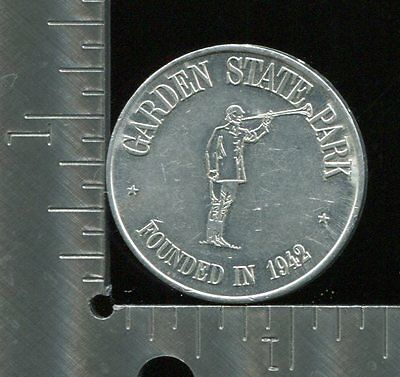 Token Garden State Park Founded in 1942 Silver Jubilee Good luck [1517]