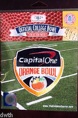 Official NCAA College Football Orange Bowl 2016/17 Patch Florida State Michigan